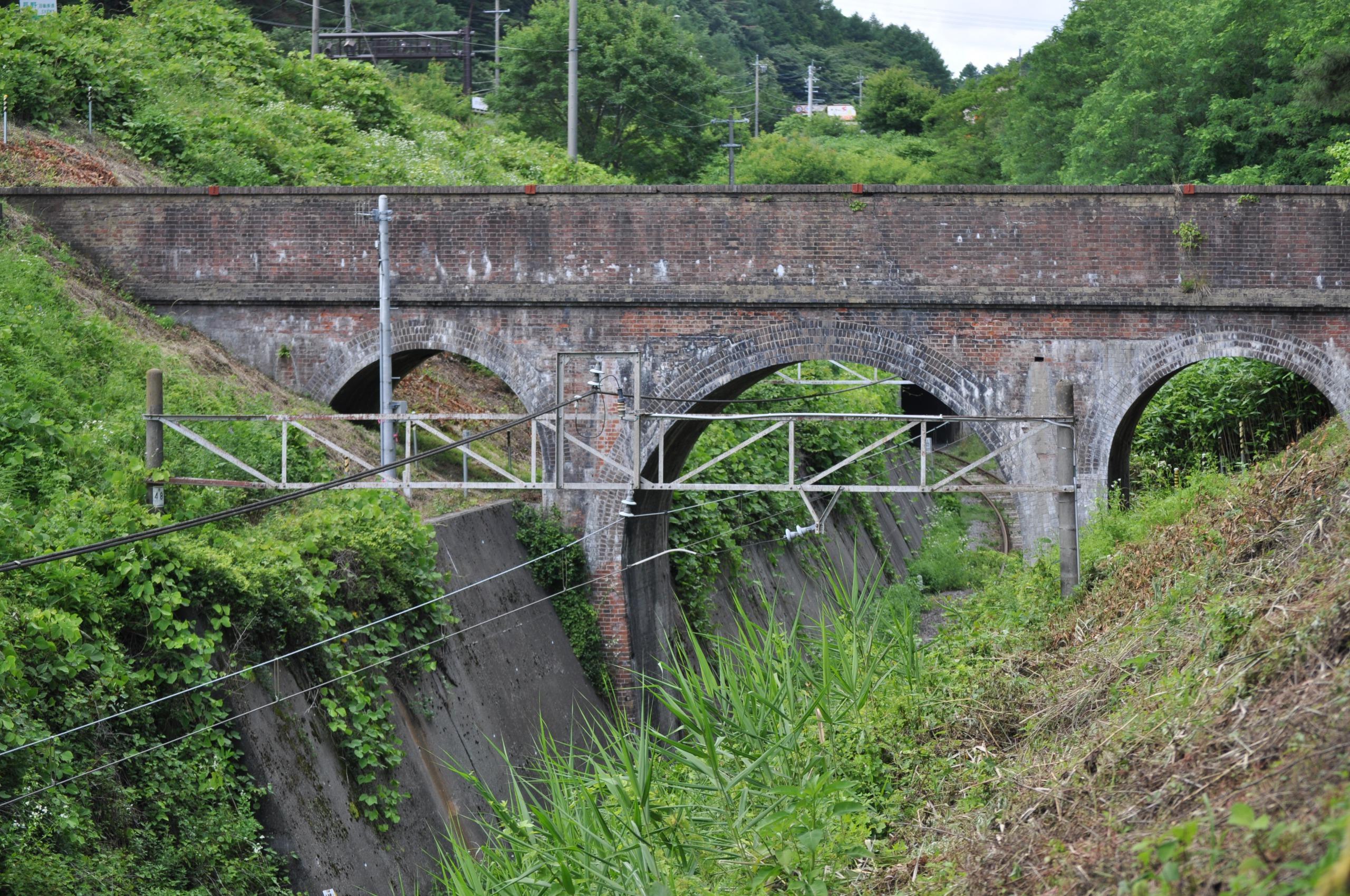 蔵造川の水路橋(めがね橋)