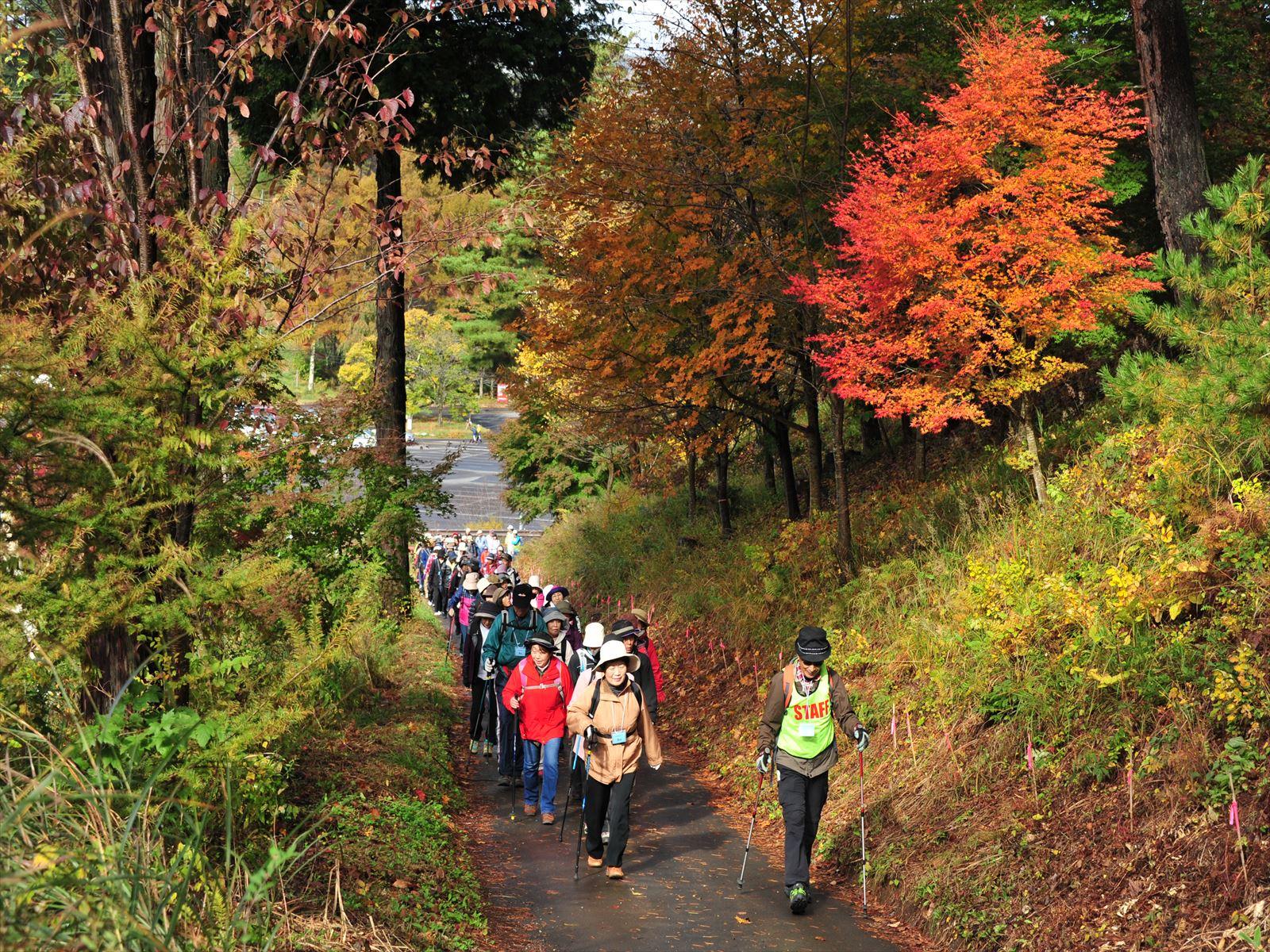 塩嶺王城県立自然公園日本土真ん中ウォーク