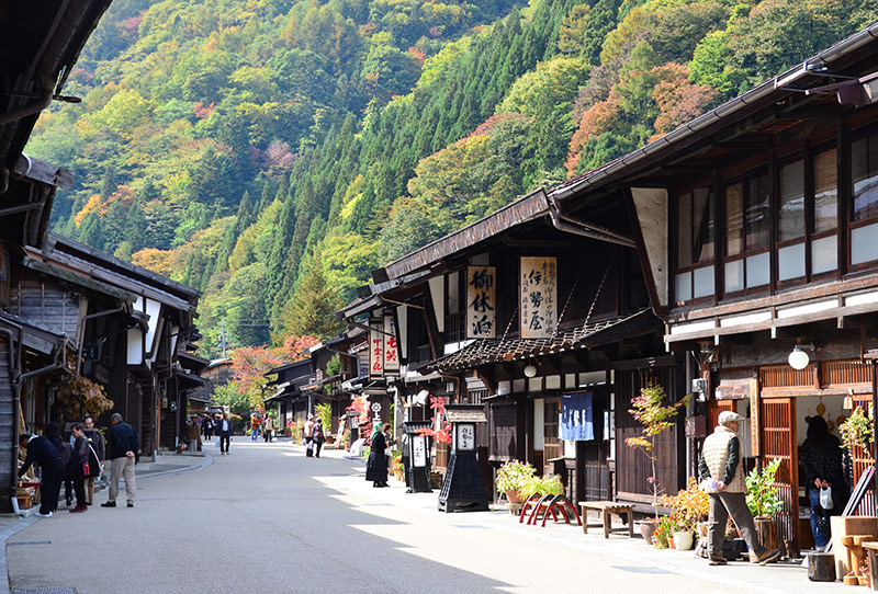 奈良井宿(国選定 重要伝統的建造物群保存地区)