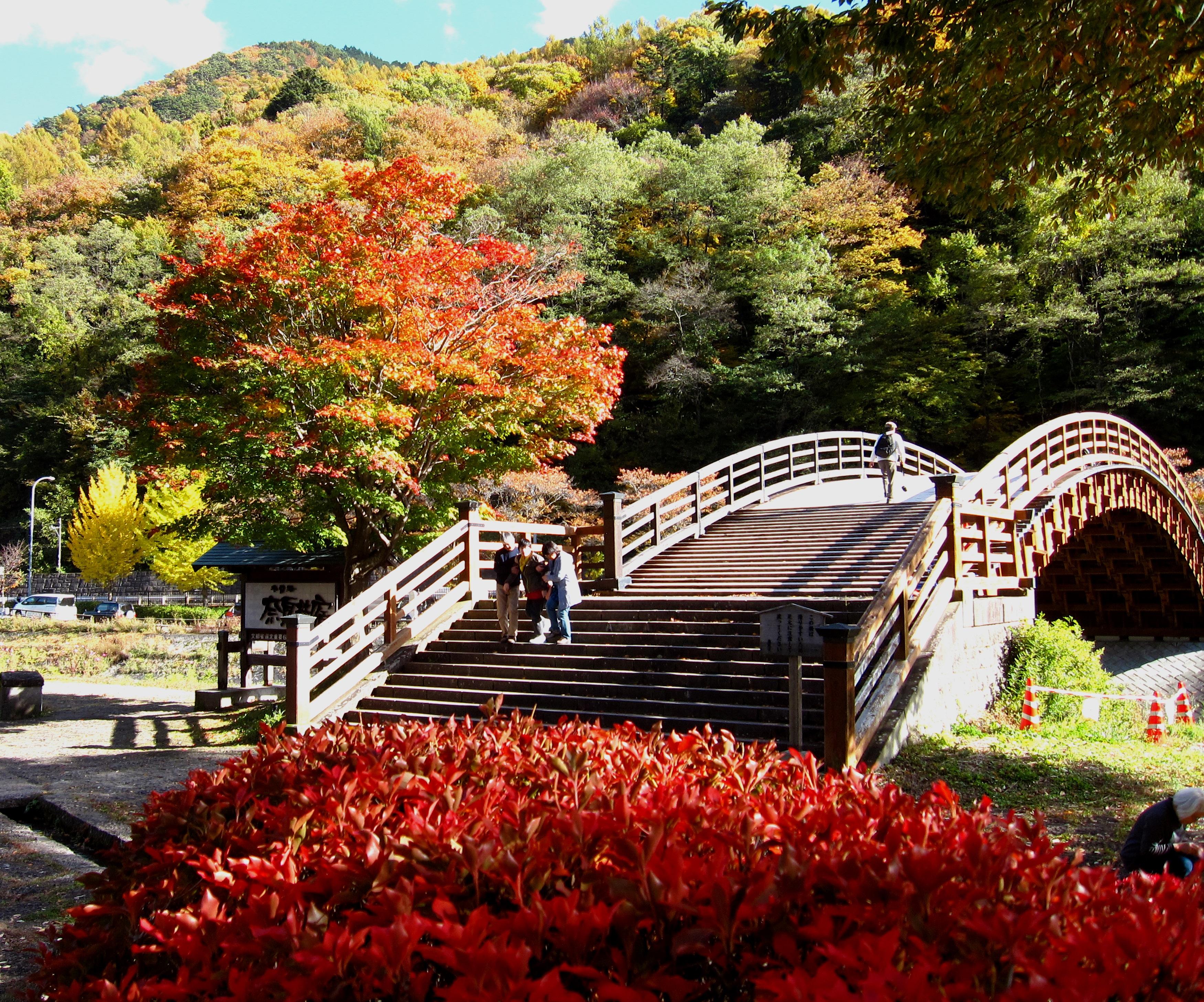 秋の旅 奈良井宿