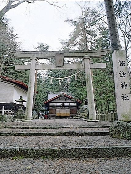 諏訪神社(木曽平沢)