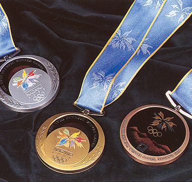 長野オリンピック入賞メダル