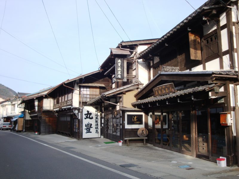 木曽平沢(漆工町/国選定重要伝統的建造物群保存地区)