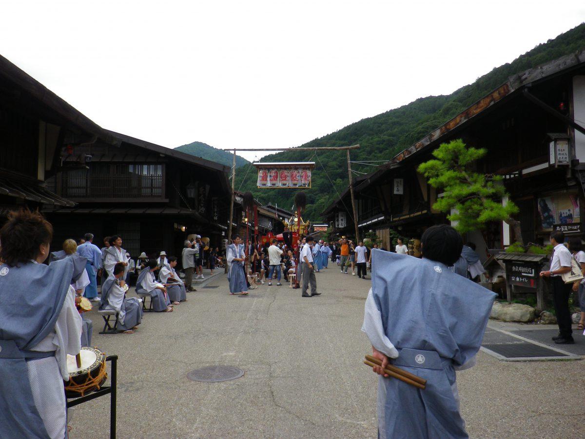 奈良井鎮神社例祭
