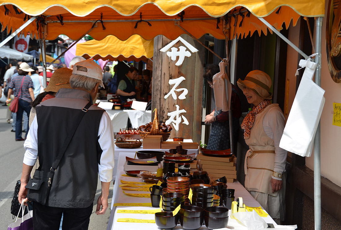 木曽漆器祭・奈良井宿場祭